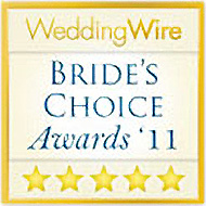 Wedding Wire - 2011 Brides Choice Award