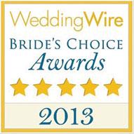 WeddingWire Brides Choice 2013