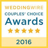 2016 - WeddingWire Couple