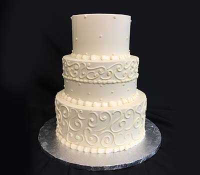 Pricing flavors bakers man inc small wedding cake package junglespirit Images