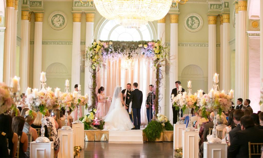Fairytale Atlanta Wedding at The Biltmore Ballrooms : Liz and Jake's June Wedding