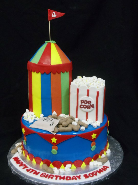 Birthday Cake 362 Bakers Man Inc