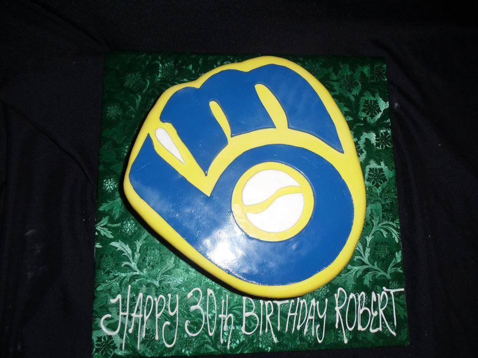 Birthday Cake 442 Bakers Man Inc
