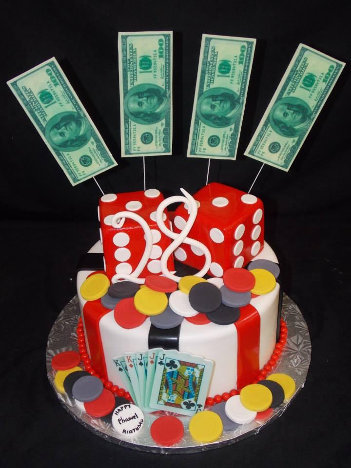 Birthday Cake 746 Bakers Man Inc