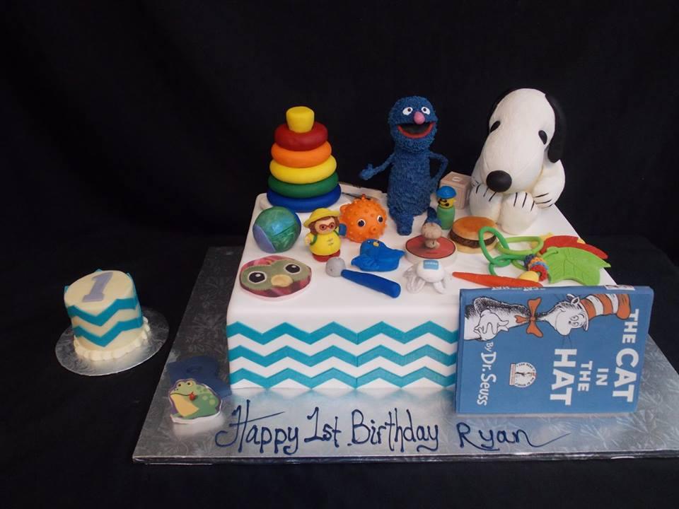 Birthday Cake 820 Bakers Man Inc