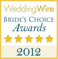 Wedding Wire - 2012 Brides Choice Award