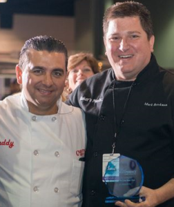 Mark Brickman with Buddy Valastro from Carlo