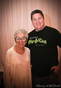 Mark Brickman with Sylvia Weinstock